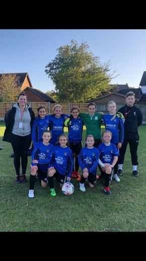 Girls Football Team 2019-2020