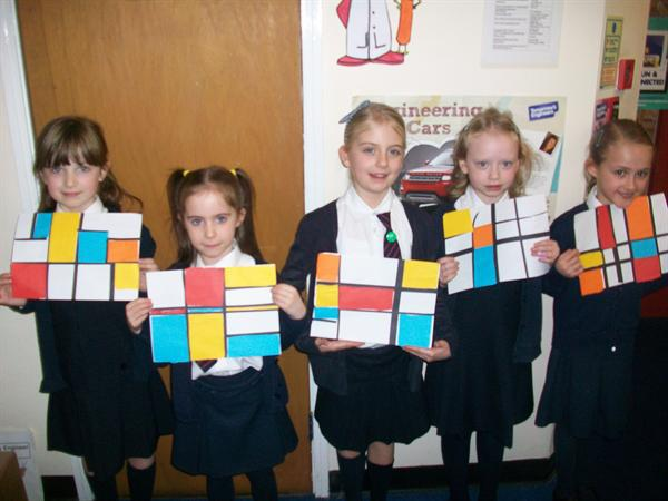 Abbie, Abbie, Beau, Kitty and Isabel - Year 2