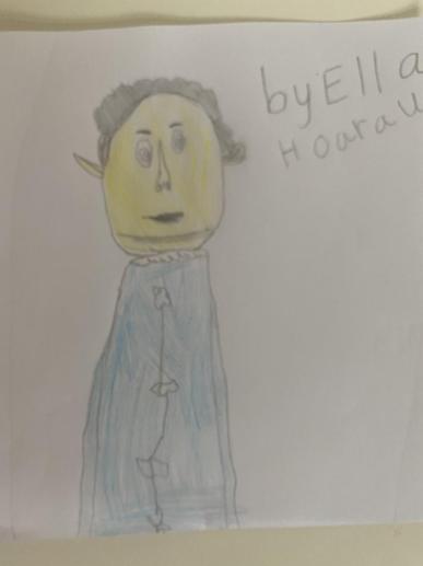 Ella's Florence Nightingale Portrait