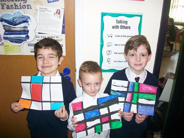 Daniel, Frankie and William - Year 2