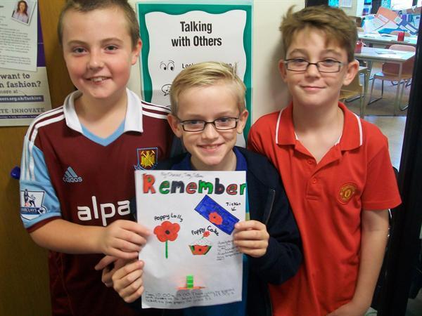 Tony, Oscar and Matthew - Y6