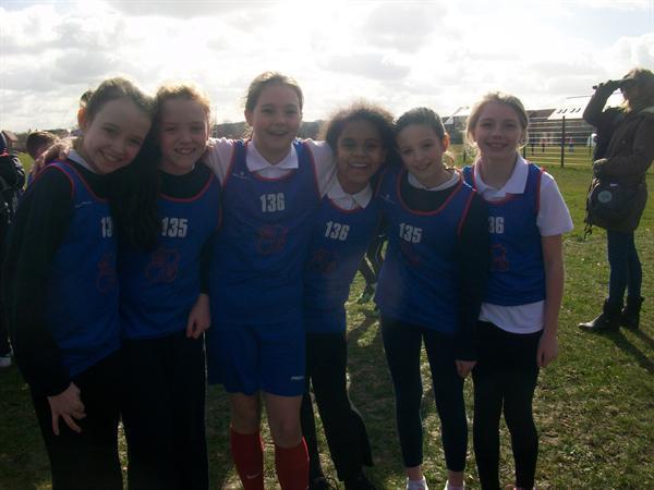 Year 6 Girls - Basildon Champions