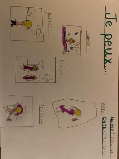Ella's French Work