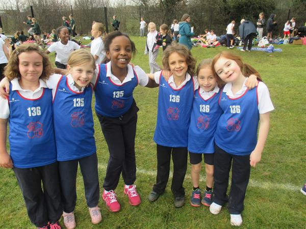 Year 3 Girls, District Cross Country - 3rd Place