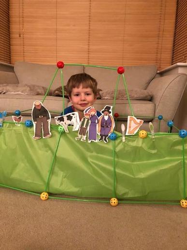 William's Jack and the Beanstalk Puppet Show