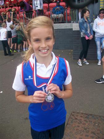 Emma - Silver Medal Y6 Girls sprint