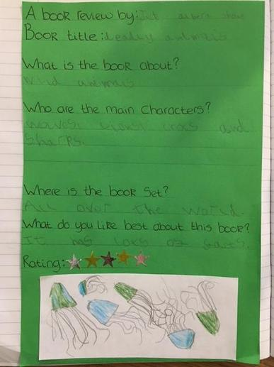 Jack's World Book Day Book Review
