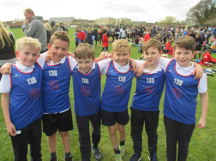 Year 4 Disrtict Cross Country Champions