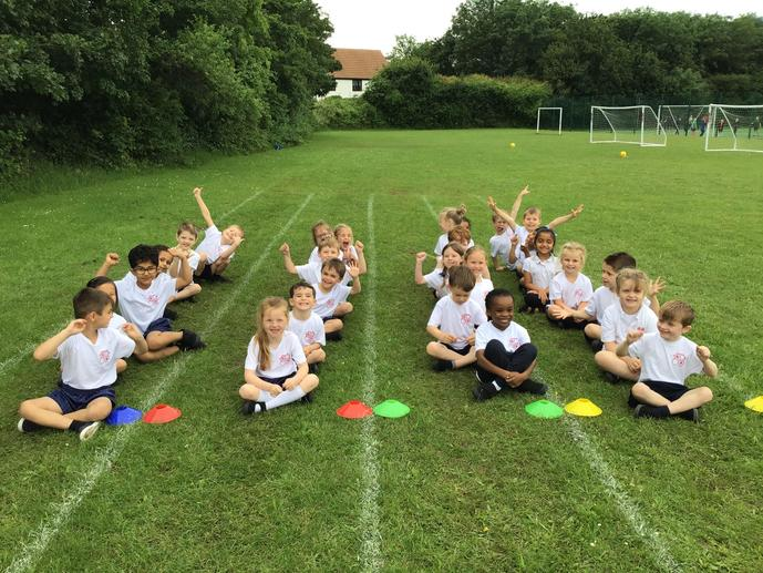We are ready for Sports Day to start!