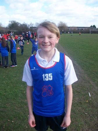 Elisa - Year 5 Basildon Cross Country Champion