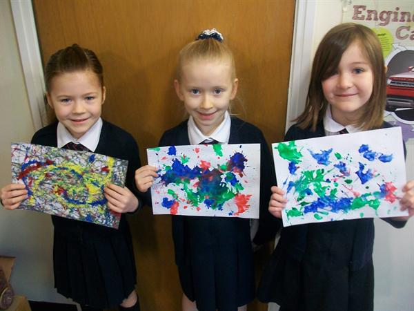 Betsy, Katie and Isla - Year 2