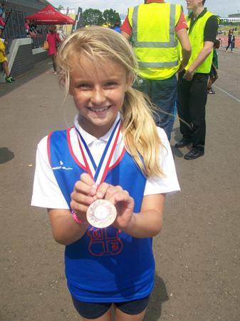 Abigail - Y4 Long Jump Bronze Medal