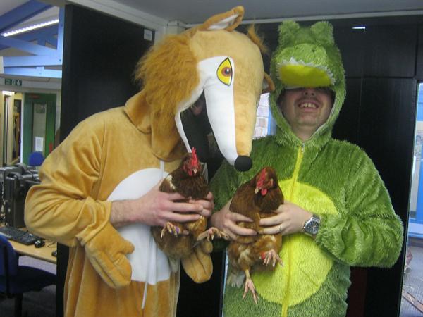 Mr Fox and Mr Crocodile