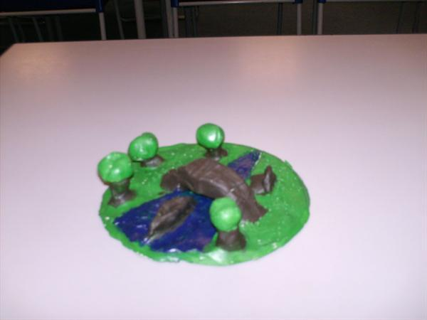 6CB - 3D Clay landscapes and Christmas Decorations