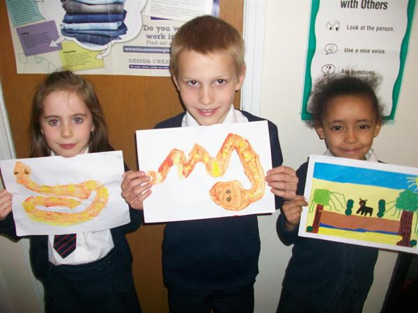 Abbie, Albert and Maia - Year 2