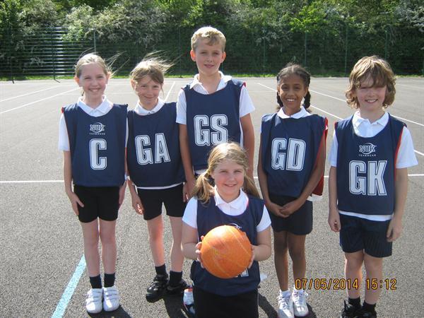 Year 5 Hi-5 teams