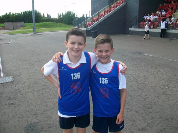Daniel (2nd) Daniel (1st) Boys 600m
