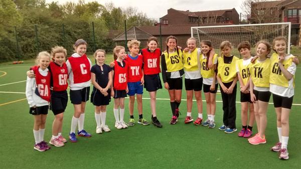 Year 5 and 6 Hi-5 teams play Noak Bridge