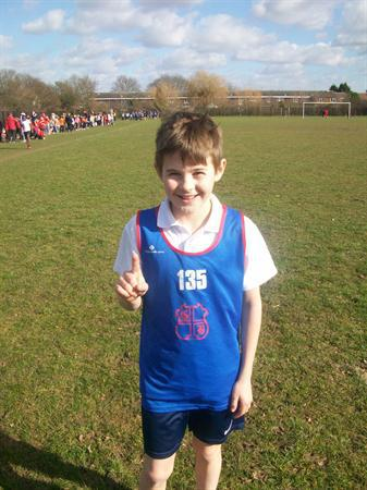 Daniel - Year 6 Basildon Cross Country Champion
