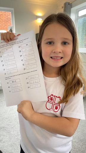 Dottie's marvellous maths