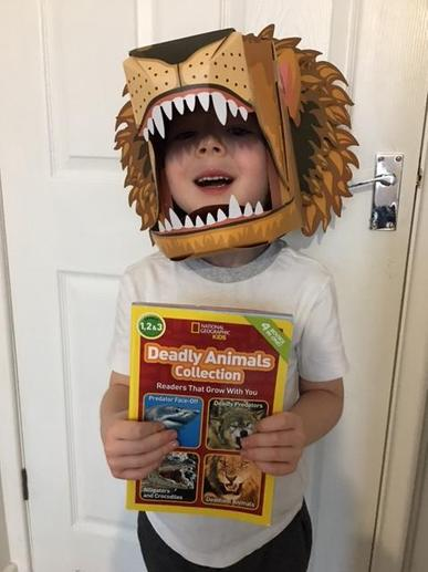 Jack's Mask for World Book Day