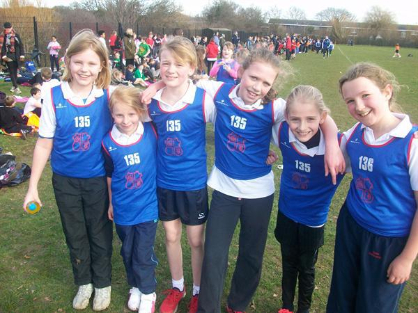 Year 5 Girls - Basildon Champions