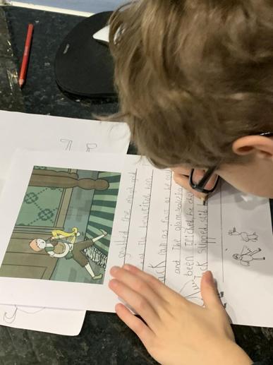 Joseph Writing his Story