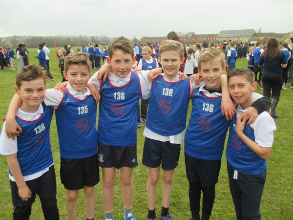 Year 5 Boys District Team Champions