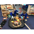 Building our own superhero city.