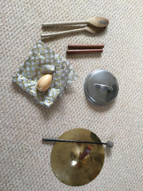Instruments you will need for The 3 Little Pigs