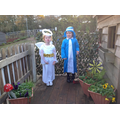 Angel Gabriel and Mary