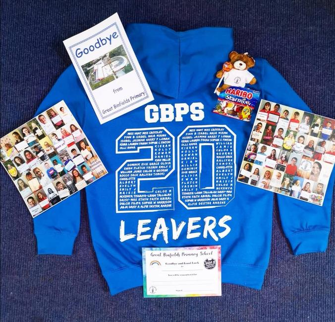 A sneak preview of your Year 6 Leavers' goodies!