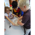 Year 2 working as a team to make bread