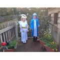 Angel Gabriel and Mary