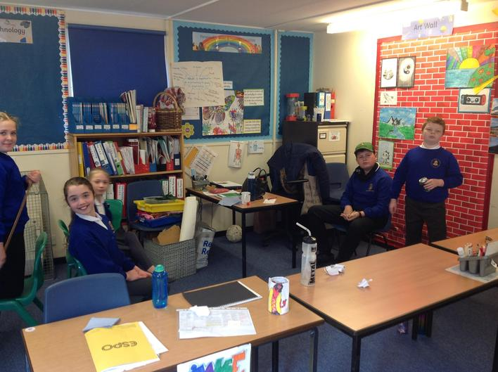 We used drama to recreate the scene when the main character Maia arrives in the Amazon