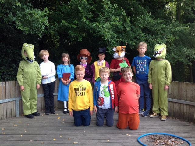 We enjoyed Roald Dahl Day!