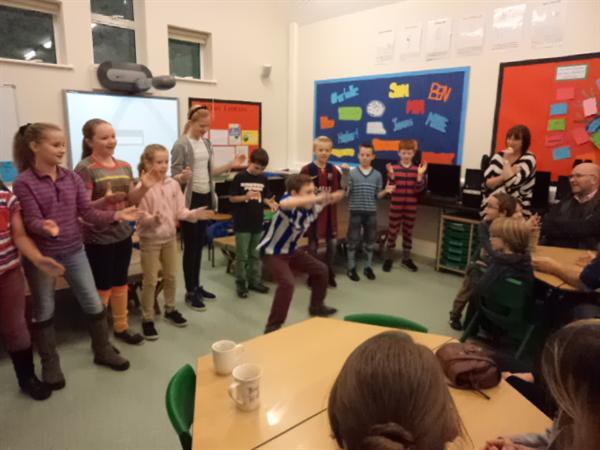 Y5 & Y6 dancing for Children in Need