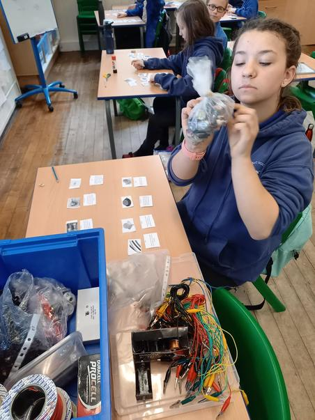 Identifying circuit components.