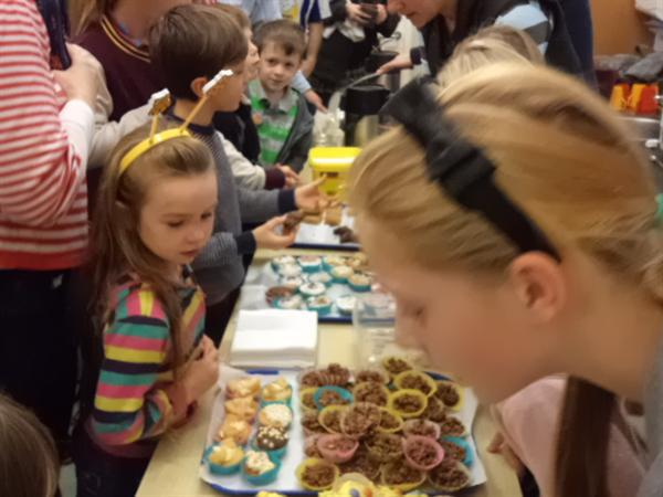 Our cake sale raised lots of money