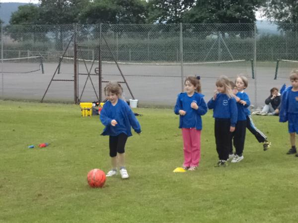 Infants sports day at HVC