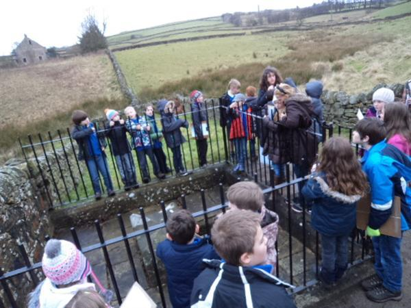 Visiting Mompesson's Well in Eyam