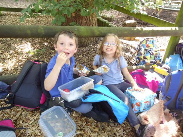 Our picnic at Chatsworth