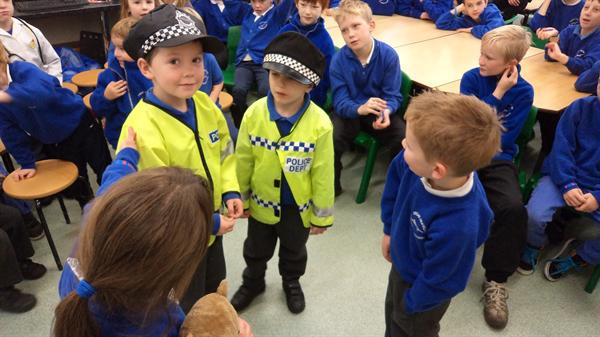 Learning about people who keep us safe