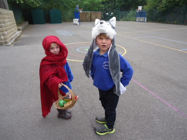 Watch out Little Red Riding Hood!
