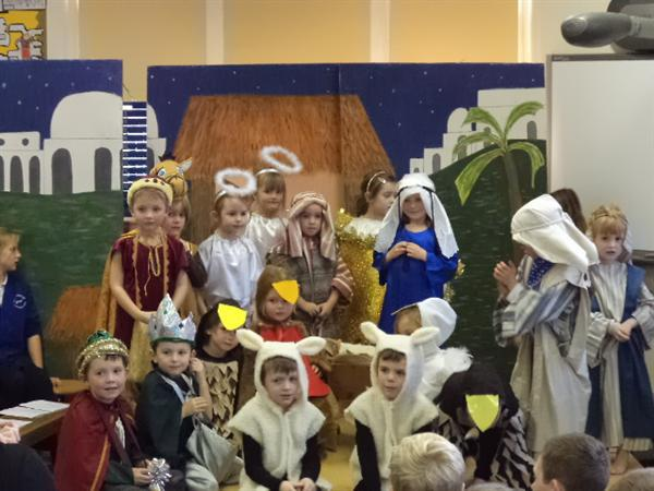 The infant nativity play