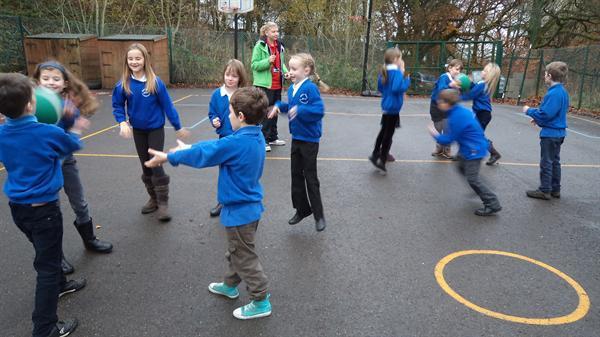 Class 2 enjoying the five/60 programme