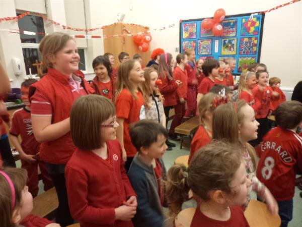 Musical fun in aid of Comic Relief