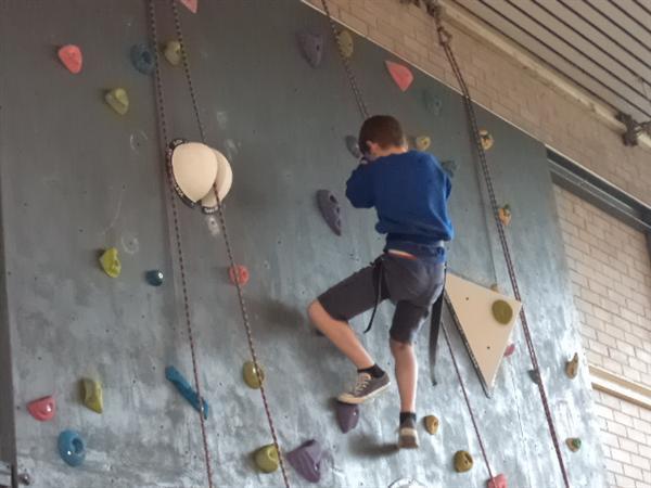 Climbing at HVC