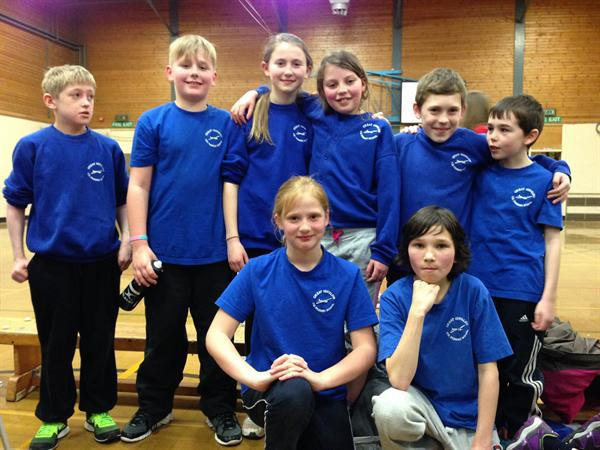 The winning team - our basketball champions!