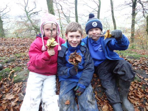 Getting creative in the woodland